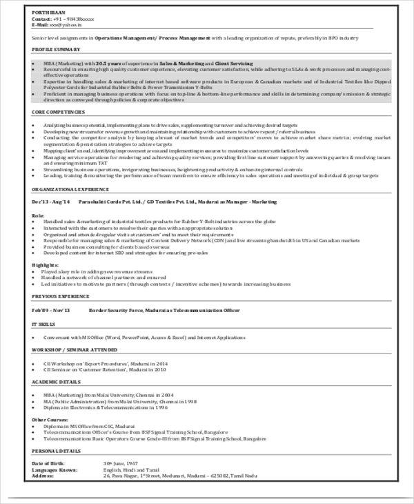 63+ Resume Formats - PDF, DOC Free  Premium Templates - Professional Resumes Format