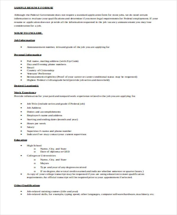 Resume Format Doc Best Free Resume Templates New Resume Templates