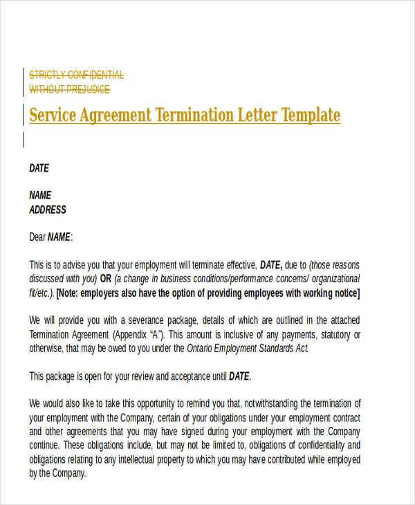 Address Change Letter Template cv01billybullockus – Agreement Termination Letter Format