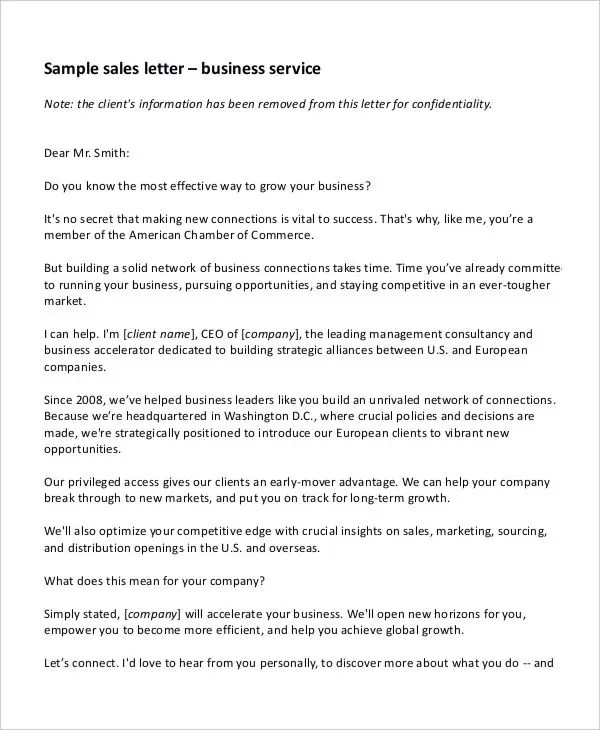 52+ Sample Business Letters Free \ Premium Templates - effective solid business contract making tips