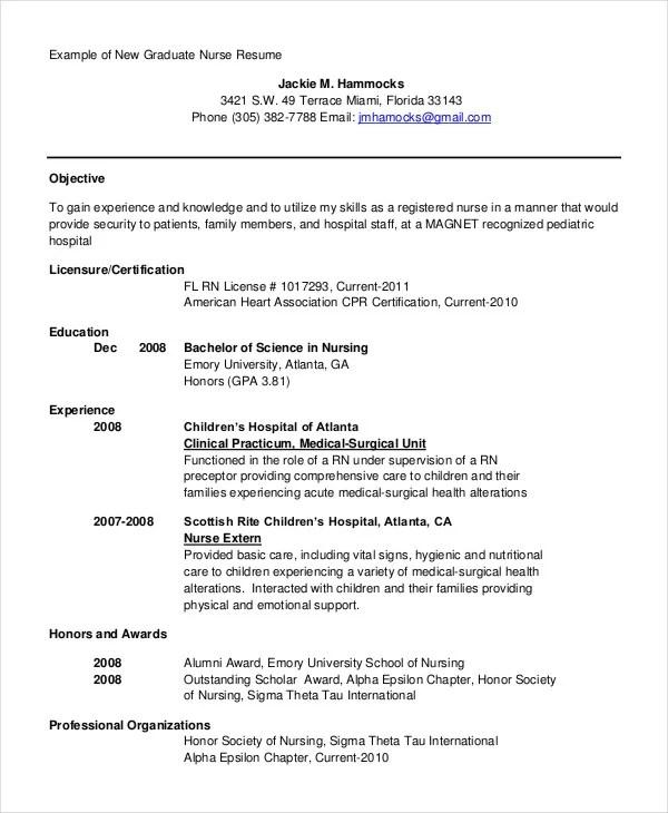 Generic Resume Template - 28+ Free Word, PDF Documents Download - generic resume
