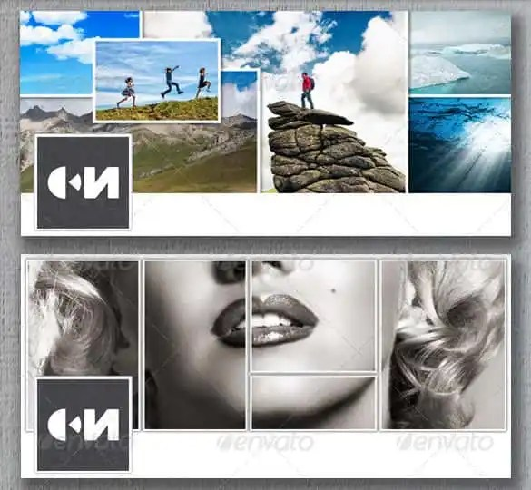 39+ Photo Collage Templates - Free PSD, Vector EPS, AI, Indesign - facebook collage template