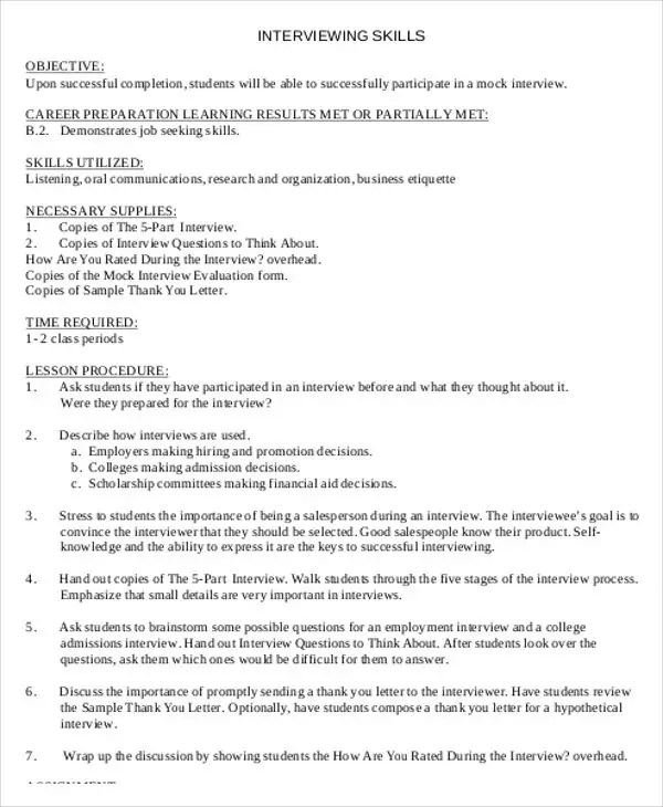 40+ Lesson Plan Templates Free  Premium Templates - what is a lesson plan and why is it important