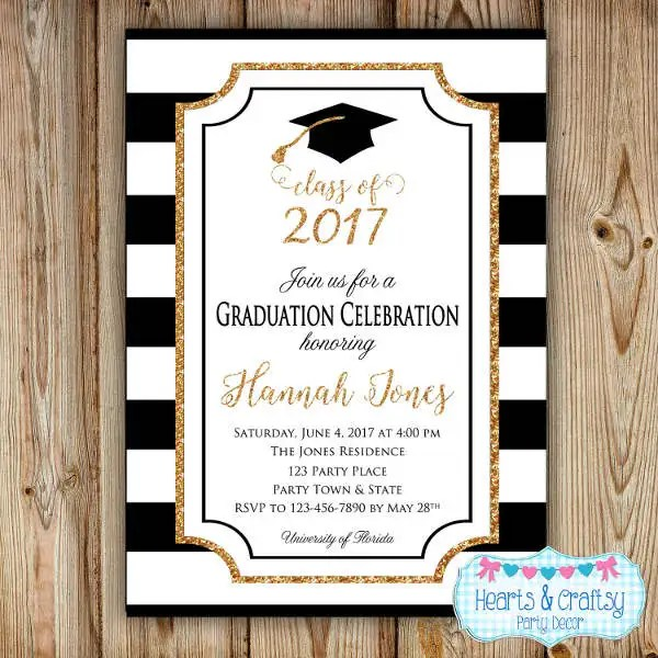 41+ Graduation Invitation Designs Free \ Premium Templates - graduation invitation template