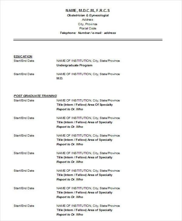 63+ Resume Formats - PDF, DOC Free  Premium Templates - Pdf Resume Format