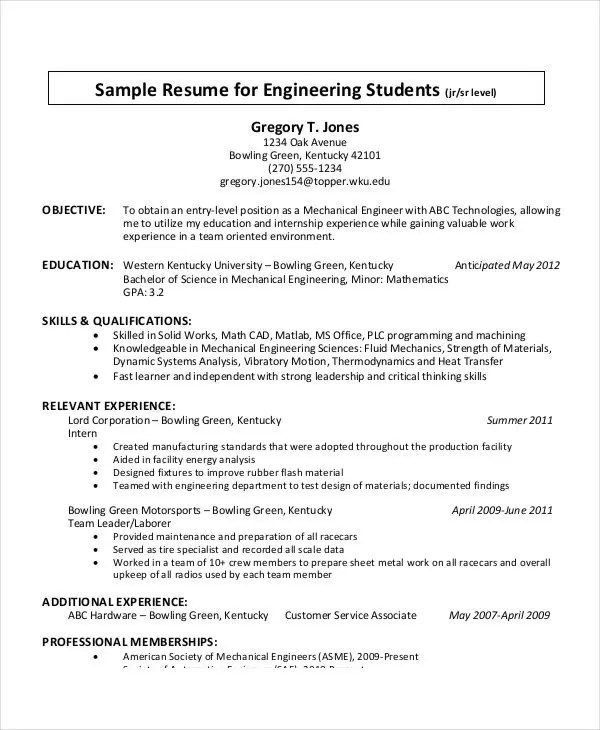Printable Resume Template - 29+ Free Word, PDF Documents Download - strengths in resume