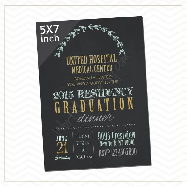45+ Graduation Invitation Designs Free  Premium Templates - graduation program template pdf