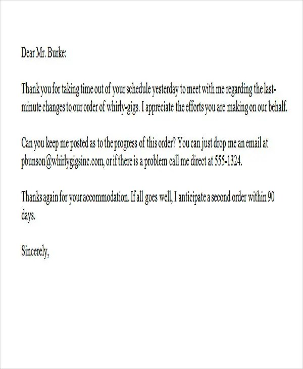 37+ Thank-You Letter in Word Templates Free \ Premium Templates - business thank you letters