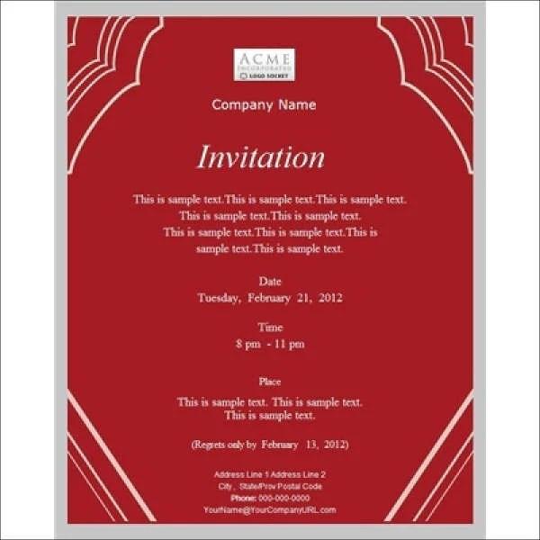 Meeting Invitation Designs Free \ Premium Templates - free corporate invitation templates