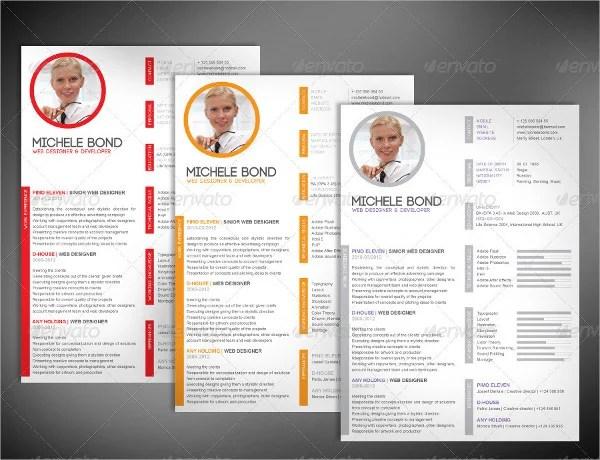 46+ Modern Resume Templates - PDF, DOC, PSD Free  Premium Templates - sample modern resume