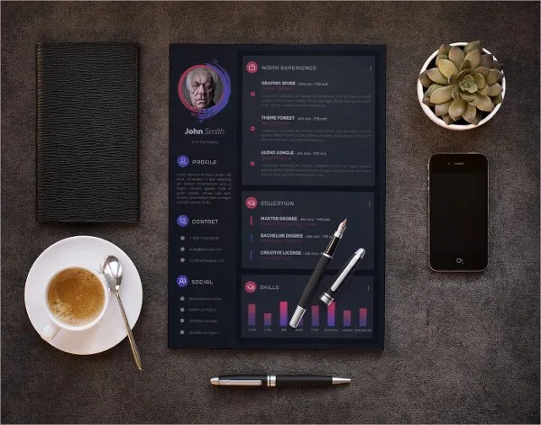 46+ Modern Resume Templates - PDF, DOC, PSD Free  Premium Templates - Resume Design