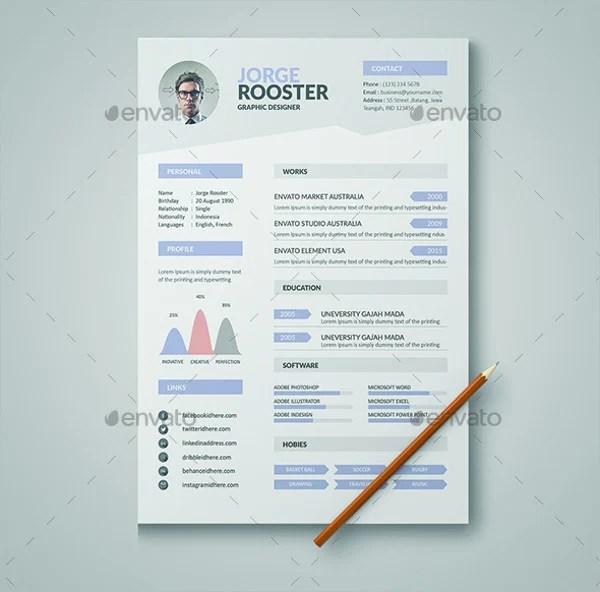 46+ Modern Resume Templates - PDF, DOC, PSD Free  Premium Templates