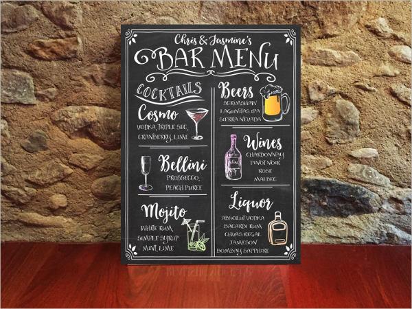 45+ Chalkboard Menu Templates Free  Premium Templates - chalkboard writing template