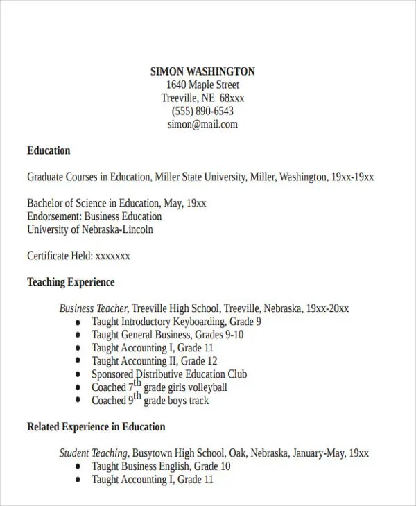 resume format in doc watson professional resumes sample online business objects resume sample - Business Object Resume