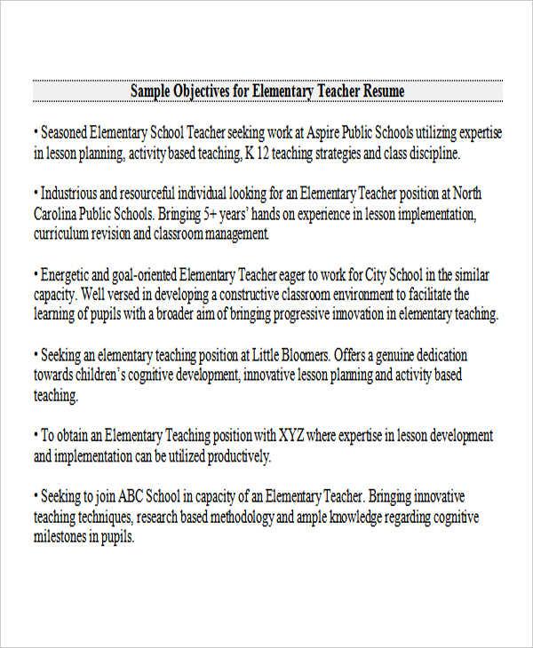 26+ Best Teacher Resumes Free  Premium Templates