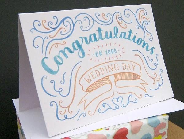 Printable Wedding Cards Free  Premium Templates