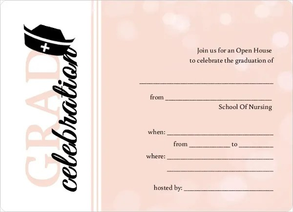 42+ Printable Graduation Invitations - PSD, AI, Word Free