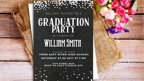 42+ Printable Graduation Invitations - PSD, AI, Word Free