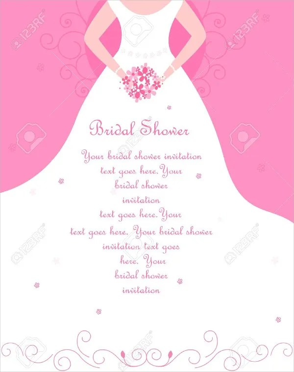 26+ Free Bridal Shower Invitations - PSD, EPS Free  Premium Templates