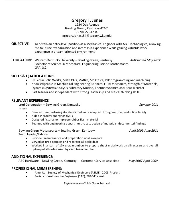 45+ Download Resume Templates - PDF, DOC Free  Premium Templates - resume format with references