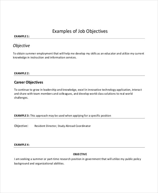 Generic Resume Template. Generic Resume Template Templates And ...
