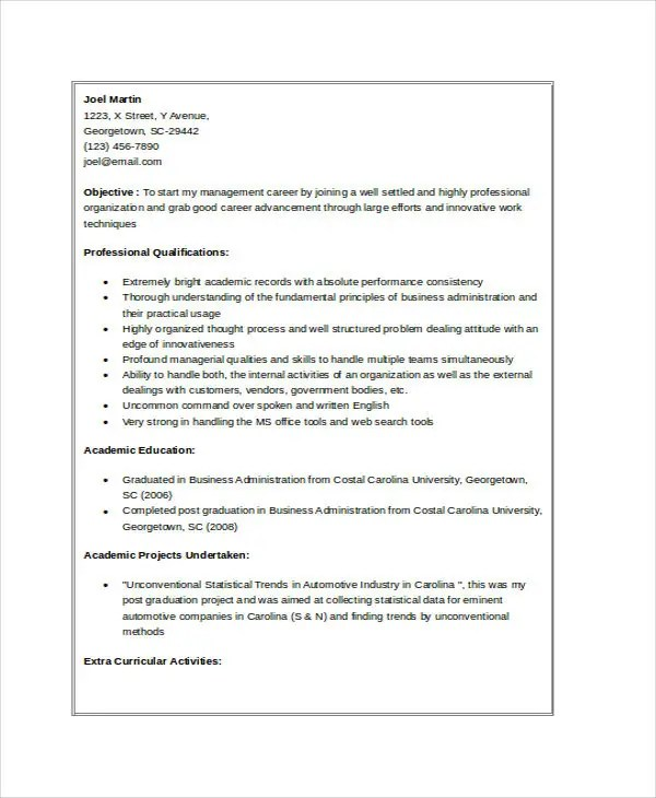 resume templates free download word new resume my free resume - resume format for mba fresher