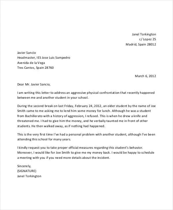 Complaint Letter Templates in Word - 28+ Free Word, PDF Documents