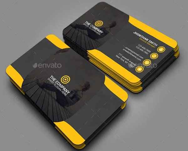 Business Card Examples Free  Premium Templates - business card sample