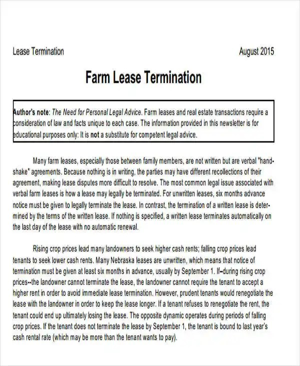 32+ Termination Letter Examples - DOC, PDF, AI Free  Premium