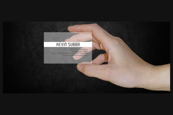 Translucent plastic business card cvfreeo plastic business cards printable business cards free premium templates colourmoves
