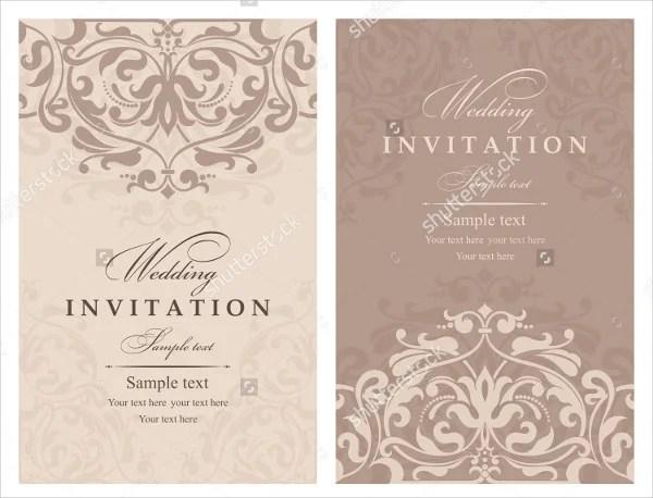 66+ Invitation Card Designs Free  Premium Templates - wedding card designing