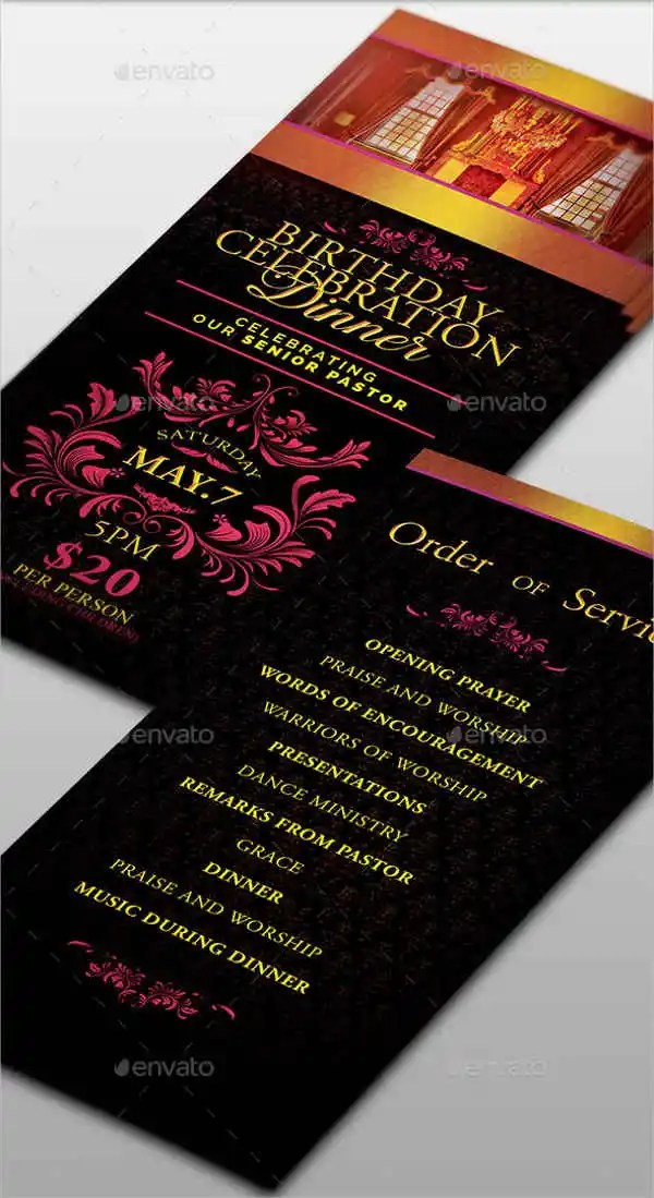 Flyer Designs Free  Premium Templates - Dinner Flyer
