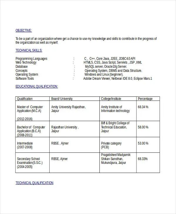 docx resume template free engineering