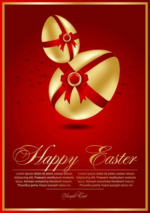 19+ Easter Card Templates Free \ Premium Templates - easter greeting card template