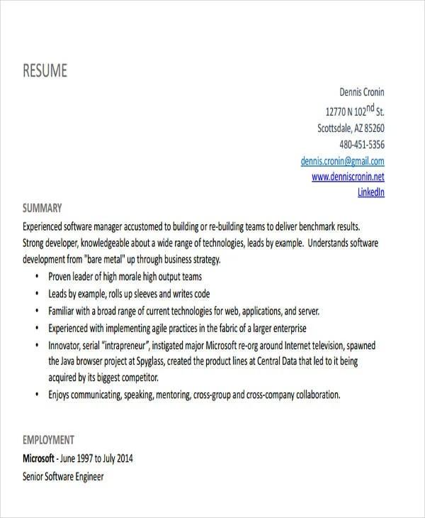 25+ Generic Engineering Resume Templates Free  Premium Templates