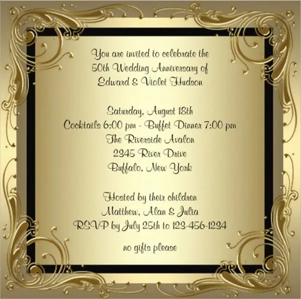 78+Invitation Card Templates Free  Premium Templates - invitation card formats