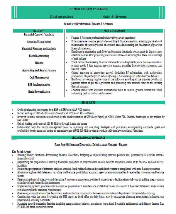 resume templates naukri