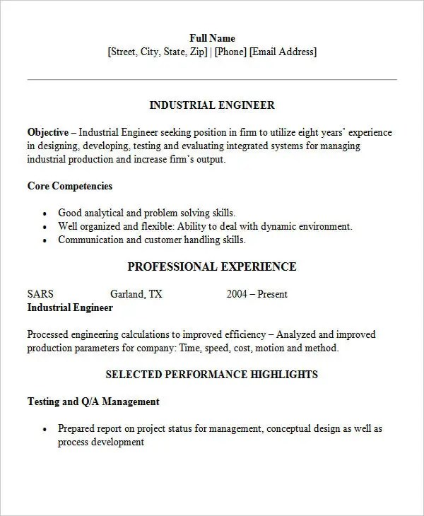 30+ Modern Engineering Resume Templates Free  Premium Templates