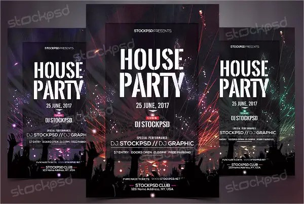 Party Flyer Examples Free  Premium Templates