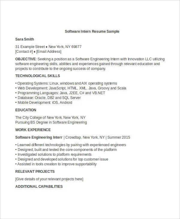 Engineering Resume Template - 32+ Free Word Documents Download