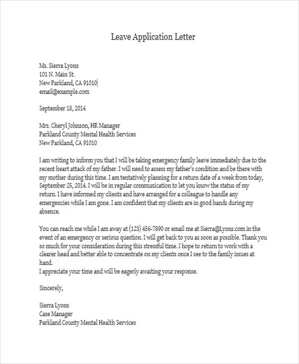 formal letter application for leave Learn how to write a casual leave letter and use the template and samples provided to create your own custom leave letter formal application letter for job.