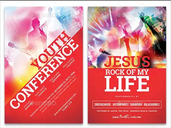 example flyers for events