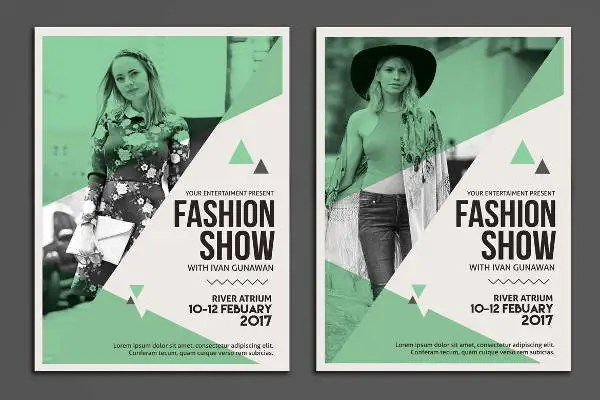 12+ Fashion Show Flyer Templates Free  Premium Templates - fashion poster design