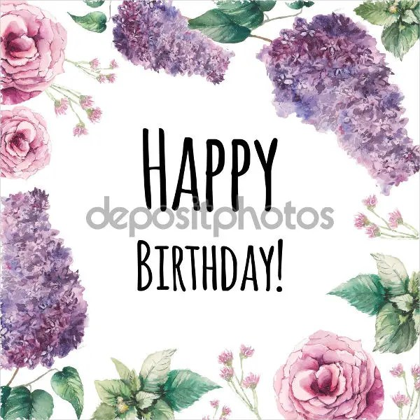 Sample Birthday Cards Free  Premium Templates - Birthday Card Sample