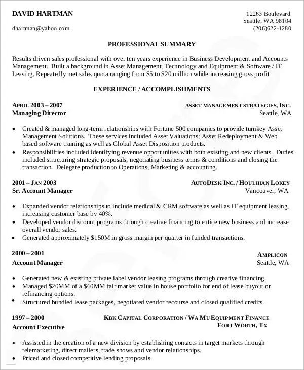mit sample resume