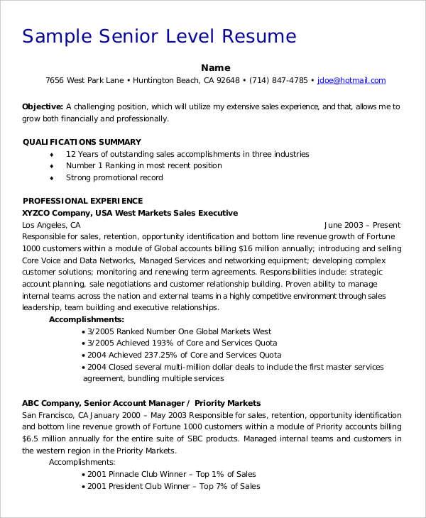 professional healthcare resume