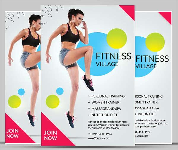 Fitness Flyer Templates Free \ Premium Templates - fitness flyer