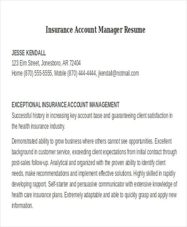 32+ Manager Resume Templates - PDF, DOC Free  Premium Templates