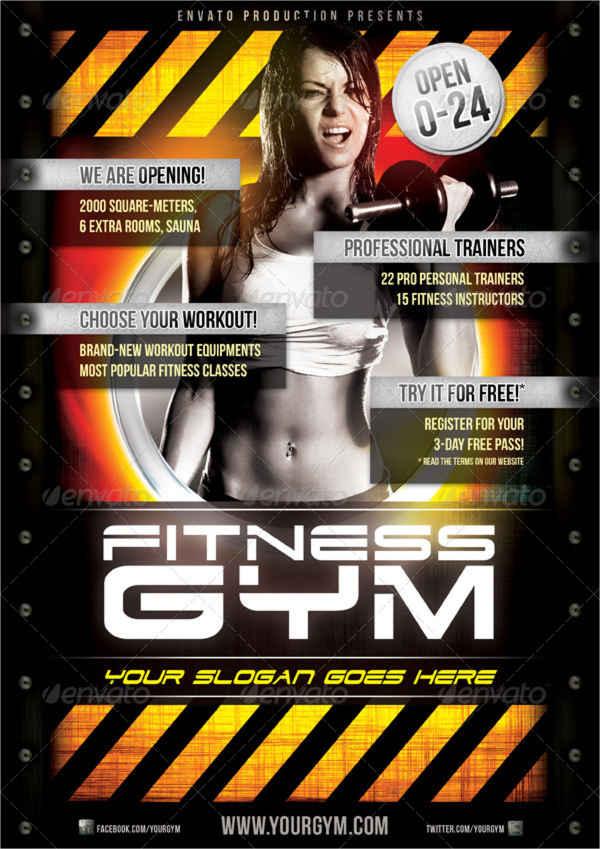 19+ Fitness Flyer Designs Free  Premium Templates