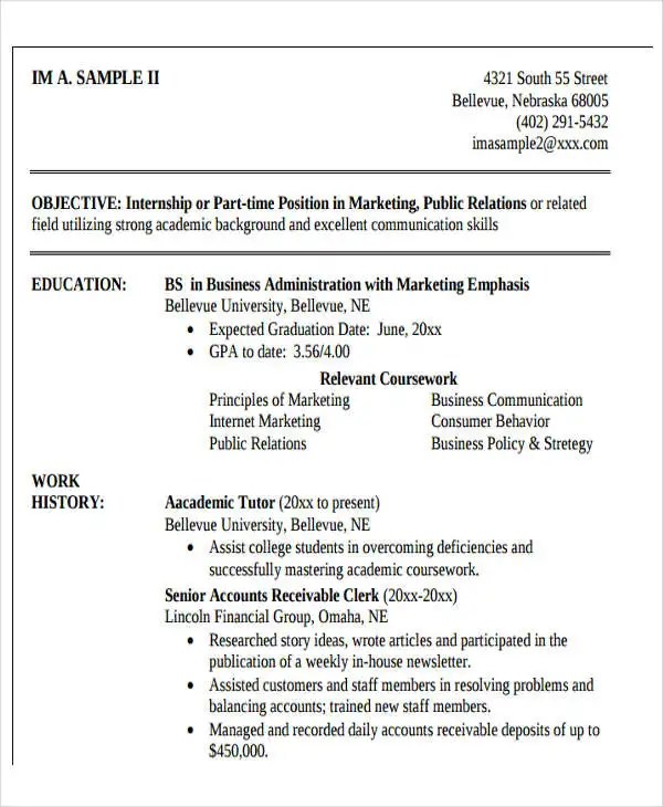up to date resume samples resume examples qualification summary